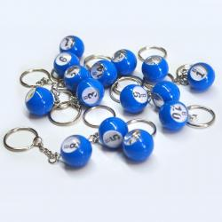 Bingo Ball Keychain - B row 1-15  15 pieces per package