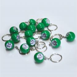 Bingo Ball Keychain - G row 46-60  15 pieces per package