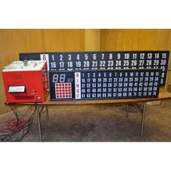 Deluxe Electronic Flashboard With 2 Inch Numbers (Smaller Size)
