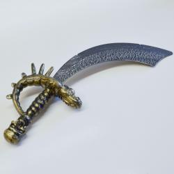 Pirate Sword- Antiqued Plastic- 18 Inches Long