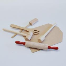 Wooden Baking Set- 6 Piece Set