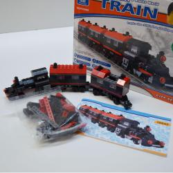 Block Assembly Toy Gift Set- Giant 360 Piece Train Set