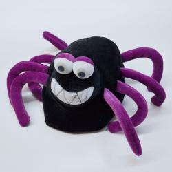 Spider Hat w/Purple Legs