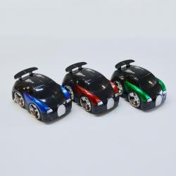 Friction Powered Race Car- Shiny- 4 Inch