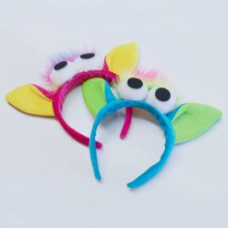 Rainbow Monster Headband- Assorted Colors