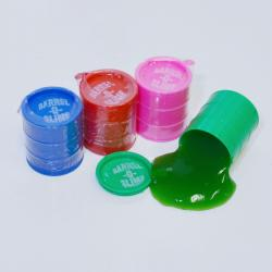 Colorful Barrel Slime- Small Size- 2 Dozen Display Box