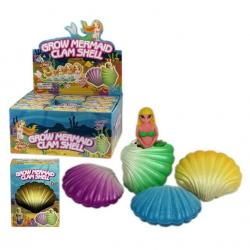 Growing Mermaid in Shell- 1 Dozen Display Box