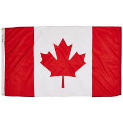 3X5 Foot Flag-  Canada