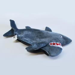 Hotizontal Gray Shark Hat- 22 Inches Long