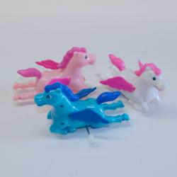 Wind-Up Pegasus- 5 Inches Long- 1 Doz Display- Asst Colors
