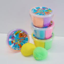 17644 - Two-Tone Bouncing Putty- 2.75 Inch Diameter- Assorted Colors