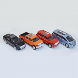 Assorted Licensed Toyota(R) Vehicles- 4.5 Inch- Asst Colors- 1 Doz Display Box