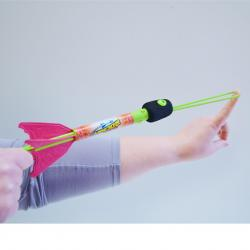 Light-Up Slingshot Rocket- 10 Inches Long- 2 Doz Display Box
