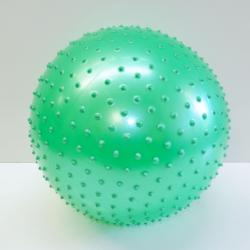Inflatable Knobby Ball- 15 Inch- 200 Gram- Poly Bagged w/UPC Code- Red, Green, Blue and Purple Asst