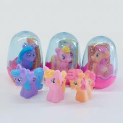 Pony and Sticker Set in Egg- 1 Doz Display Box
