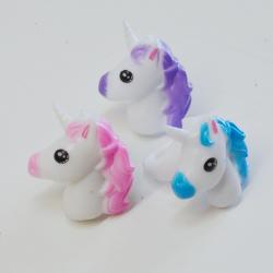 Flashing Unicorn Ring- 2 Inch- 2 Dozen Display Box