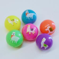 Flashing Llama Ball- 55mm-  Asst Colors