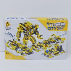 Giant Block Assembly Robot- 573 Piece Set- 12-In-1