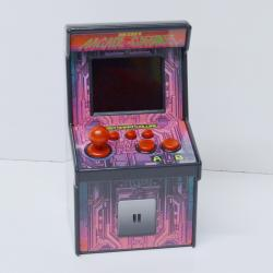 Mini Arcade Video Game Center- Over 200 Games Built In- 7 Inches Tall