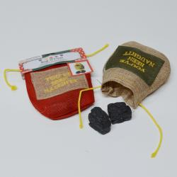 Lumps of Coal Christmas Bag-