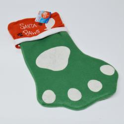 Santa Paws Christmas Stocking for Pets