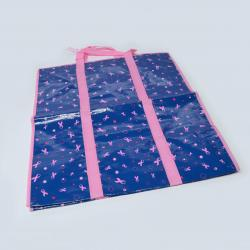 Tote Bag- Pink and Blue Breast Cancer Awareness Design