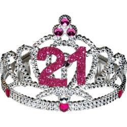 Tiara- 21st Birthday w/ Pink Jewels