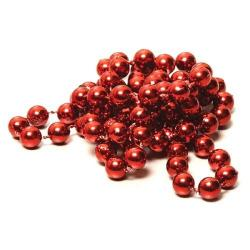 Round 7.5mm Maroon Bead- 33 Inch CLOSEOUT