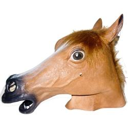 Brown Horse Mask- Adult Size