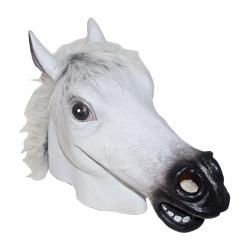 White Horse Mask- Adult Size