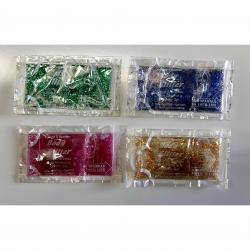 Body Glitter Pouch- Single Use Size- Assorted Colors- Sold By Bag of 144