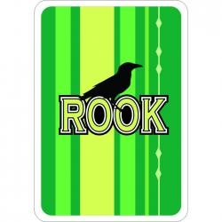 Rook Playing Cards- Deck of 57- 12 Deck Display Box- Each Deck w/Top Flap w/Peg Hole