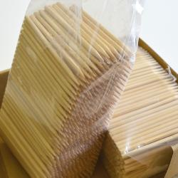 Bamboo Skewers 1,000 Per Box-  5.25  Inch X 6.25mm