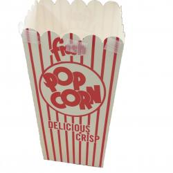 Popcorn Box- Scoop .79  Ounce-500 Ct Ctn