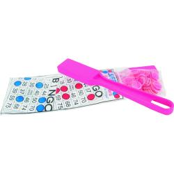 Pink Magnetic Bingo Kit- 1 Wand and 100 Chips