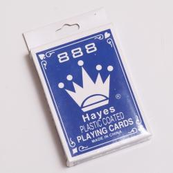 Plastic Coated Playing Card- Poker Size Each Deck in Tuck Box
