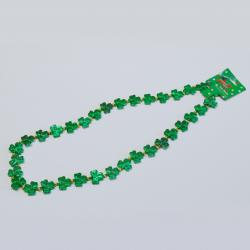 Shamrock Beads Green 30 Inch I Dozen Card