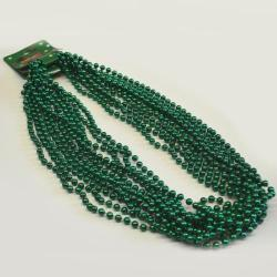 Round 7mm Green Bead 33In