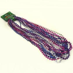 Heart Bead Asst Color Bead 33 Inch  8Mm