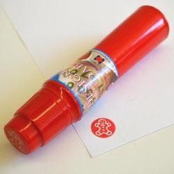 Red Gingerbread Design Dabber 1 Dozen Display