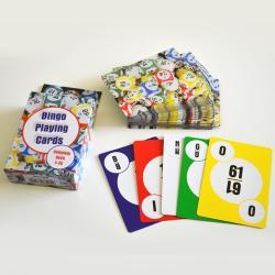 Bingo Playing Cards Deck Of 75- Standard Poker-Size Deck