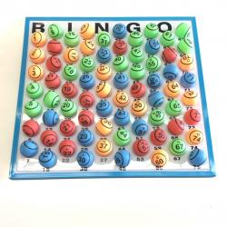 Bingo Ball- 2 Side Double Number Print- Random Muti-Colored Balls- CLOSEOUT