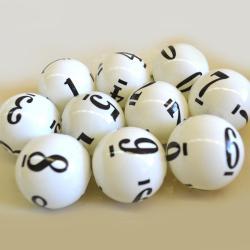 Balls- Regular 0-9  6 Side - Coated