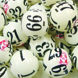 Keno Ball- 80 Number-6 Side- Pro