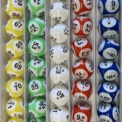 Bingo Ball- 5 Color Six Side Print