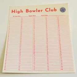 Bowler Cards  Numbered 1-200