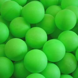 Table Tennis Ball- Green PP Material- 40mm Size
