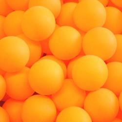 Table Tennis Ball- Orange PP Material- 40mm Size