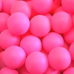 Table Tennis Ball- Pink PP Material- 40mm Size