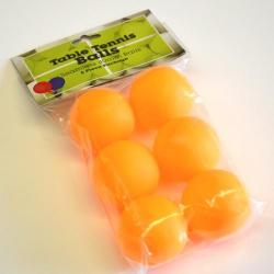 Table Tennis Ball- Orange 6Pc In Pbh